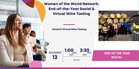 Women of the World Network: End of the year social tickets