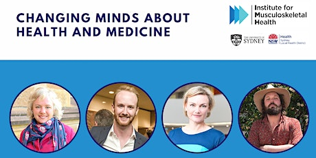 Changing minds about health and medicine: a webinar tickets