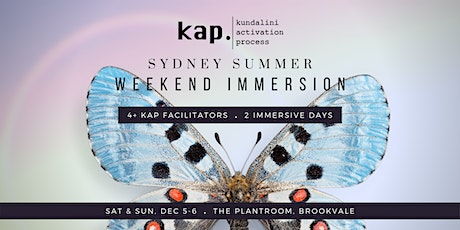 KAP Summer Weekend Immersion tickets