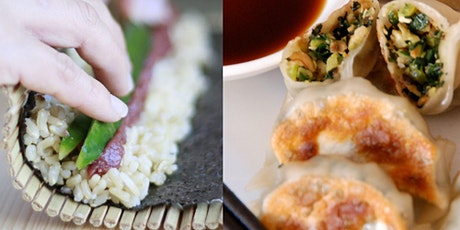 JAPANESE FAVOURITES (INTENSIVE): GYOZA + SUSHI tickets