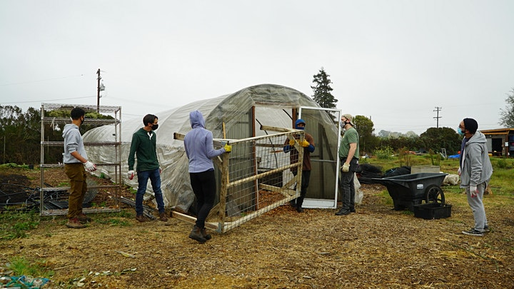 VOLUNTEER at the North Richmond Farm -March 2021 image