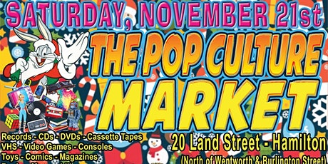 The Pop Culture Market Christmas Edition! tickets