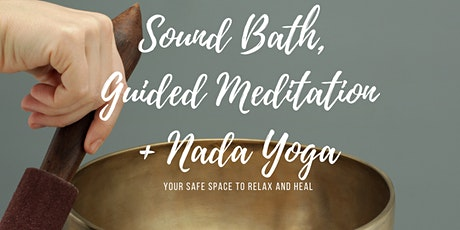 Sound Bath and Guided meditation | in-person, small group tickets