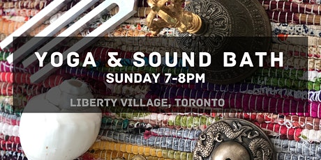 Yoga, Sound Bath and Guided meditation | in-person, small group tickets