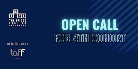 The Bridge Fashion Incubator (TBFI) Cohort 4 Open Call Info Session tickets