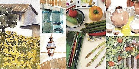 'Mediterranean Travel Sketching' Watercolour Workshop tickets