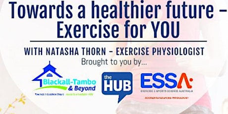 Towards A Healthier Future - Exercise for YOU : Women and Pregnancy tickets