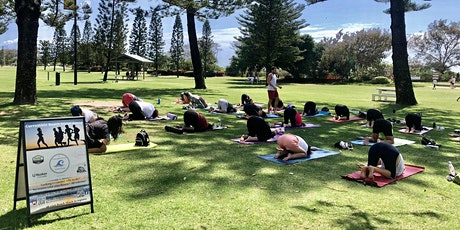 Saturday Meet 830am for 845 Broadbeach Weekly  Free Yoga  Class in the Park tickets