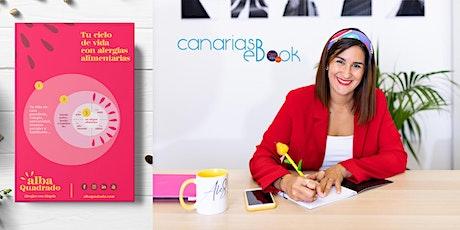 """Presentación libro """"Tu ciclo de vida con alergias alimentarias"""" por Alba Q entradas"""
