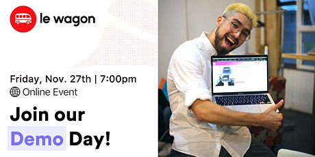 [Online Demo Day] Le Wagon Tokyo Coding Bootcamp - 2020 Fall Batch tickets