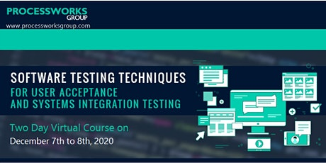 Software Testing Techniques for User Acceptance and Systems Integration Tes tickets
