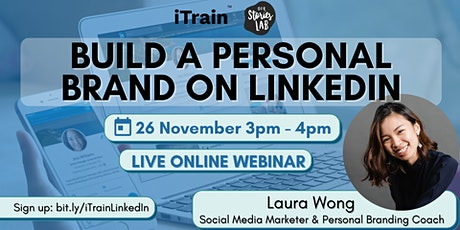 Build A Personal Brand on LinkedIn! tickets
