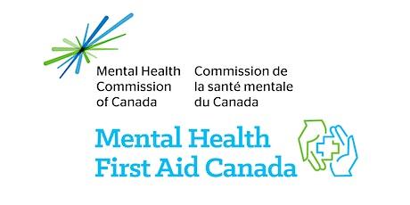 Mental Health First Aid: Standard (Virtual) tickets