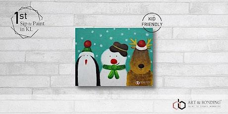 Sunday Sip & Paint : Winter Buddies tickets