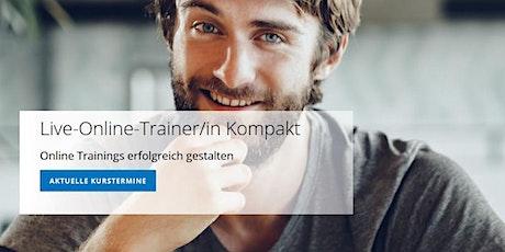 Live-Online-Trainer/in – Kompakte Trainerweiterbildung Tickets