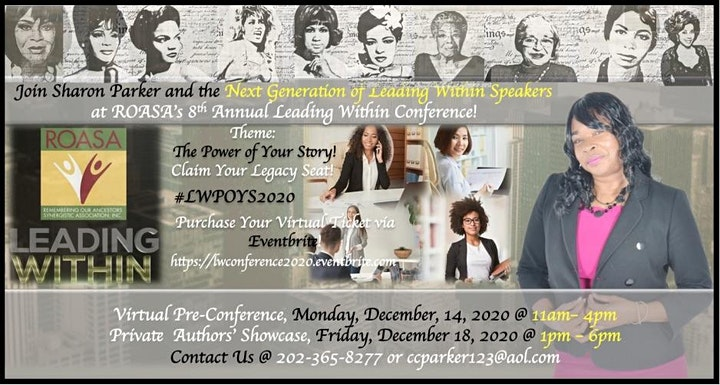 Level-Up Leading Within Virtual Women's Conference #LWPOYS2020 image