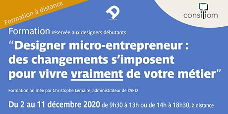 [à distance] designer micro-entrepreneur : des changements s'imposent ! billets