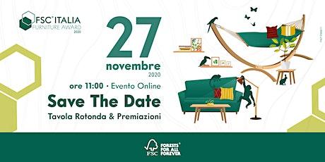 FSC Italia Furniture Award 2020: le premiazioni biglietti