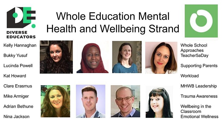 Whole Education: Mental Health and Wellbeing Strand image