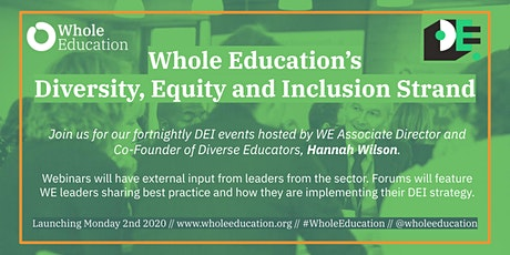 Whole Education: Diversity Equity and Inclusion Strand tickets