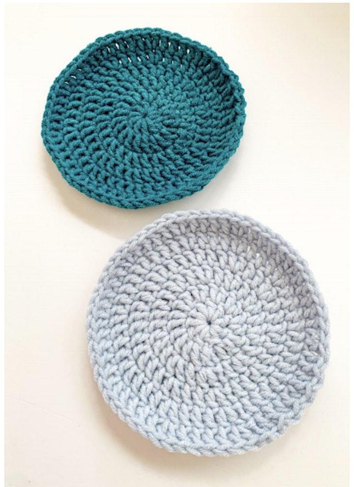 Basic Coaster Crochet Stitches Workshop image