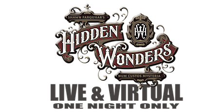 Hidden Wonders Speakeasy Magic Experience - VIRTUAL & LIVE tickets