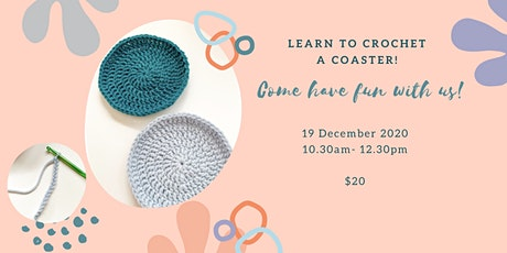 Basic Coaster Crochet Stitches Workshop tickets