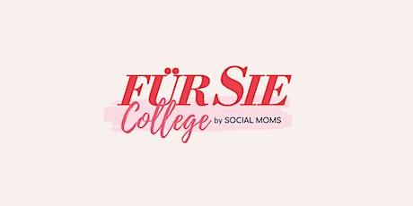 DIE KUNST DER GELASSENHEIT | FÜR SIE College Tickets