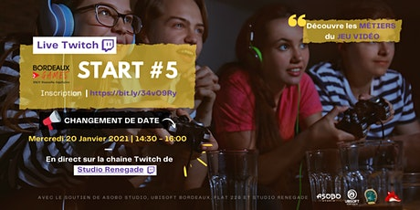 START #5 - Bordeaux Games billets