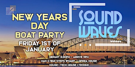 Boat Party SoundWaves VIII - New Years Day tickets