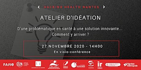 Atelier d'idéation Hacking Health #2 billets