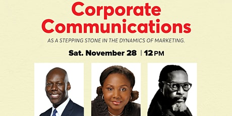 Corporate Communications as a Stepping Stone in the Dynamics of Marketing tickets