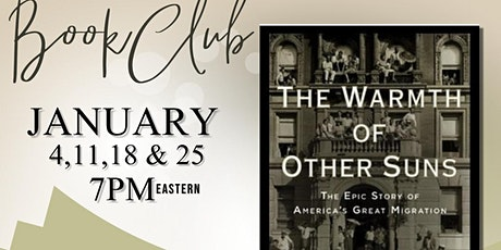 Book Club: The Warmth of Other Suns by Isabel Wilkerson tickets
