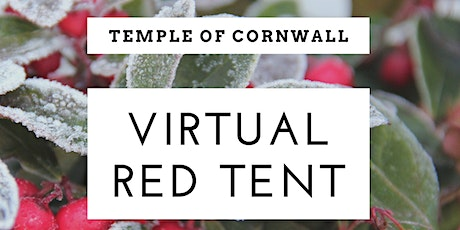 Temple of Cornwall Red Tent - November Frost Full Moon Gathering - Virtual tickets