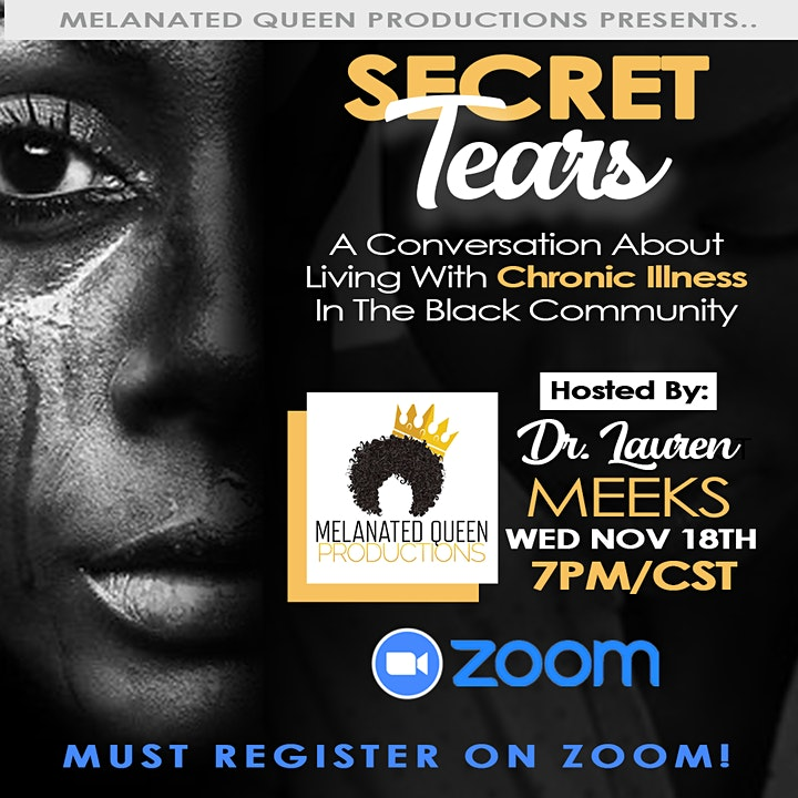 Secret Tears: Living With Chronic Illness In The Black Community image