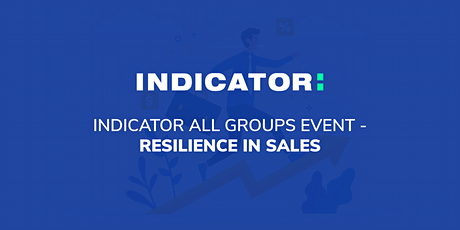 Indicator All Groups event - Resilience in Sales tickets