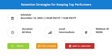 Retention Strategies for Keeping Top Performers tickets
