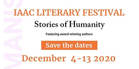IAAC LITERARY FESTIVAL tickets