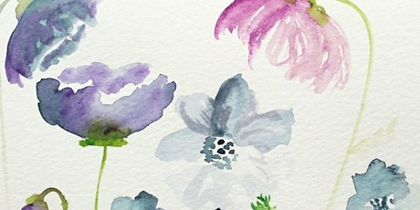 Painting Water Colour Flowers for Beginners - Art Sessions for Over 60's tickets