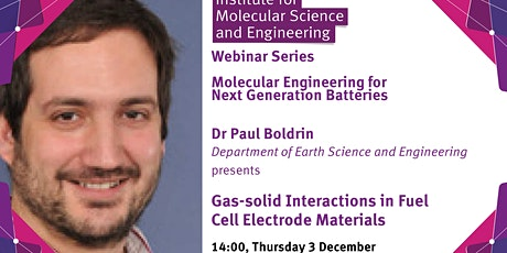Gas-solid Interactions in Fuel Cell Electrode Materials tickets