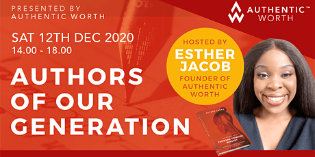 Writers and Authors of our Generation 2020 tickets