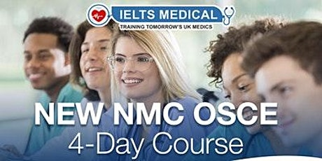 NMC OSCE Preparation Training Centre training - 4 day course (April) tickets