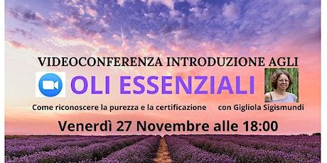 Corso Gratuito Introduzione agli Oli Essenziali Puri biglietti