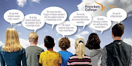 Frencken Next info-avond 13 jan start 20.45 uur tickets