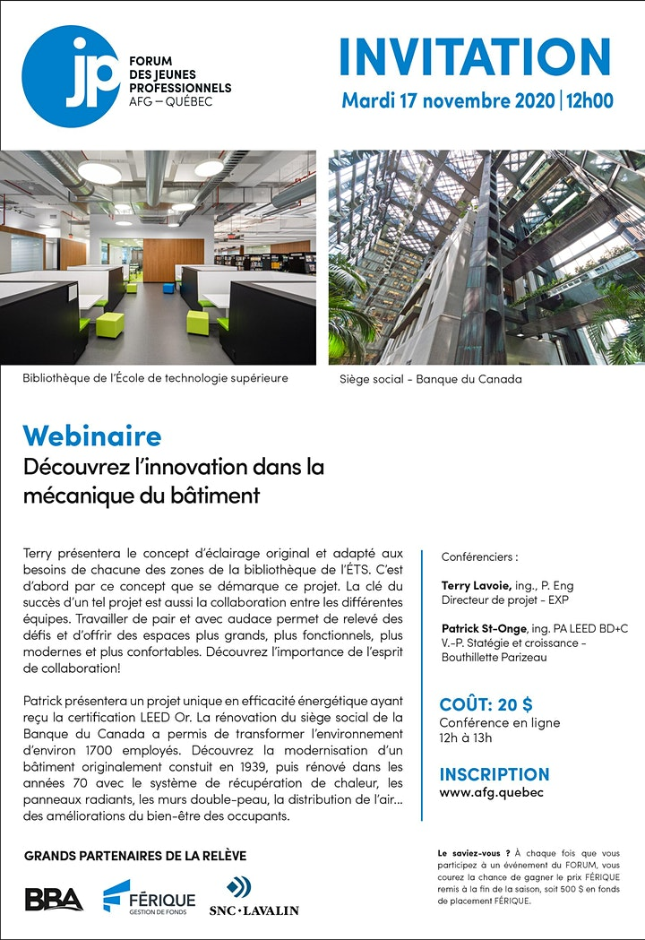 Image de WEBINAIRE - Découvrez l'innovation dans la mécanique du bâtiment