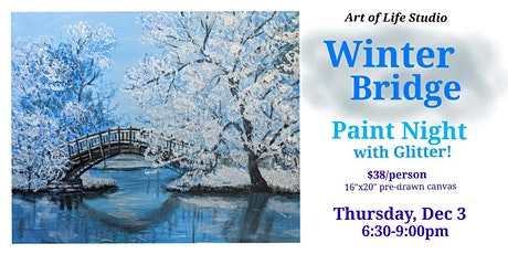 Paint Night: Winter Bridge tickets