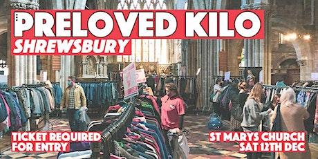Shrewsbury Preloved Vintage Pop Up Shop tickets