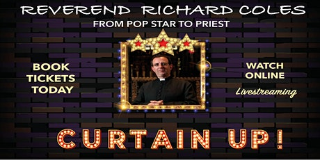 From Popstar to Priest by Reverend Richard Coles – Livestream Performance tickets