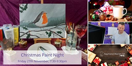 Christmas Paint Night