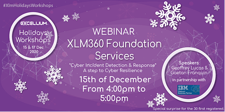 Holidays Workshops: XLM360 Foundation Services